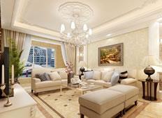 暖意欧风130平米欧式风格四居室