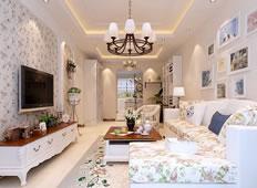 回归自然130平米田园风格三居室