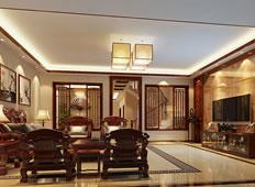 古朴雅致中式装修风格350平米别墅