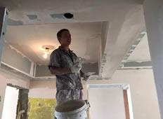 建设派唐先生家墙面乳胶漆处理